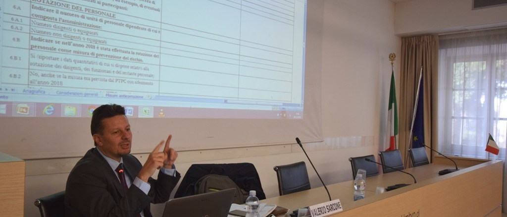 """corso """"La pianificazione delle misure anticorruzione: l'aggiornamento del PTPC 2019-2021"""""""