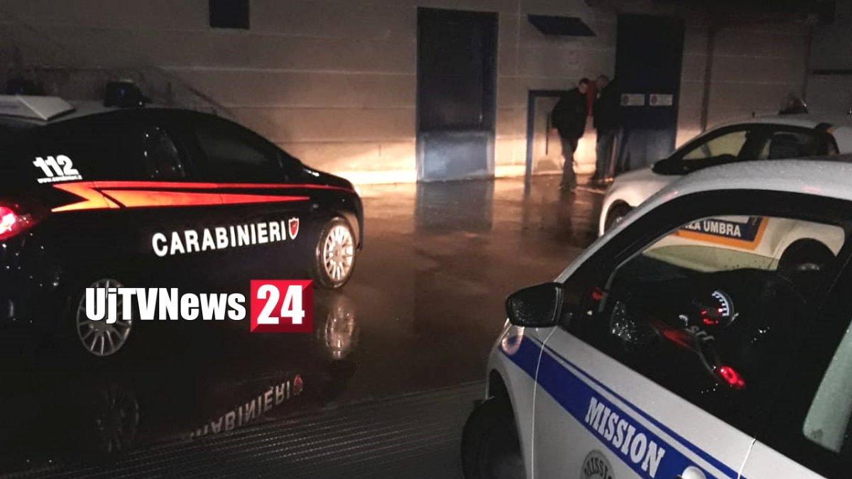 Tentato furto nella notte alla cassa continua di Mediaworld Ipercoop di Collestrada [Foto]