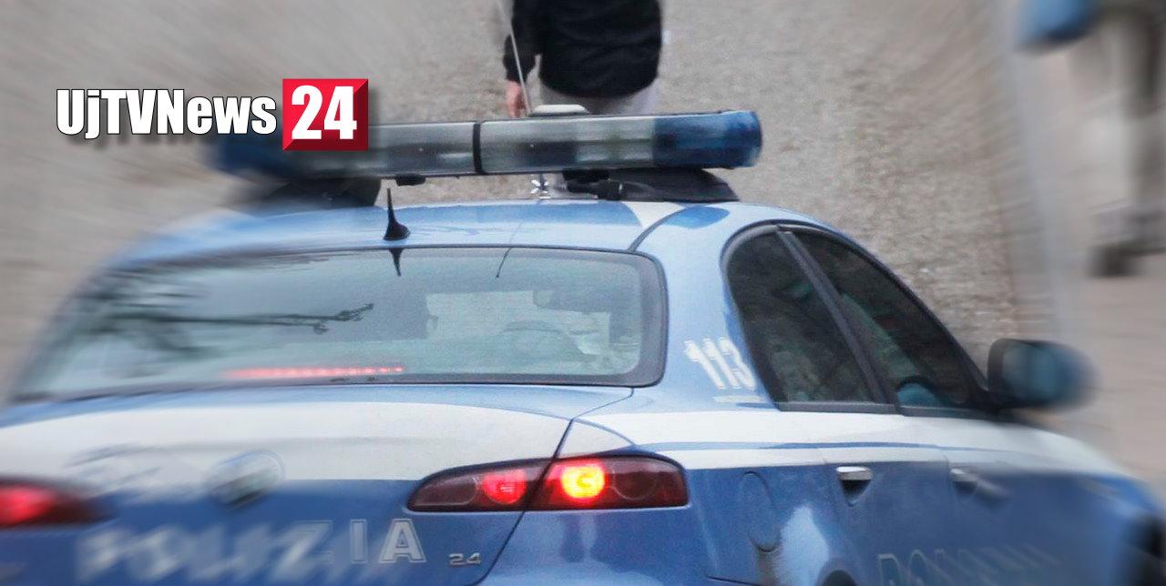 Pesta a sangue la compagna, fugge e cerca di picchiare agenti, arrestato