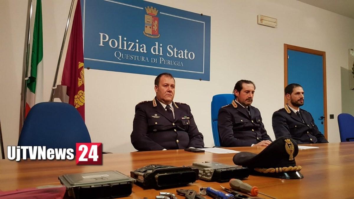 Furti auto ospedale Perugia, prima visita medica e poi rubavano, arrestati in 5