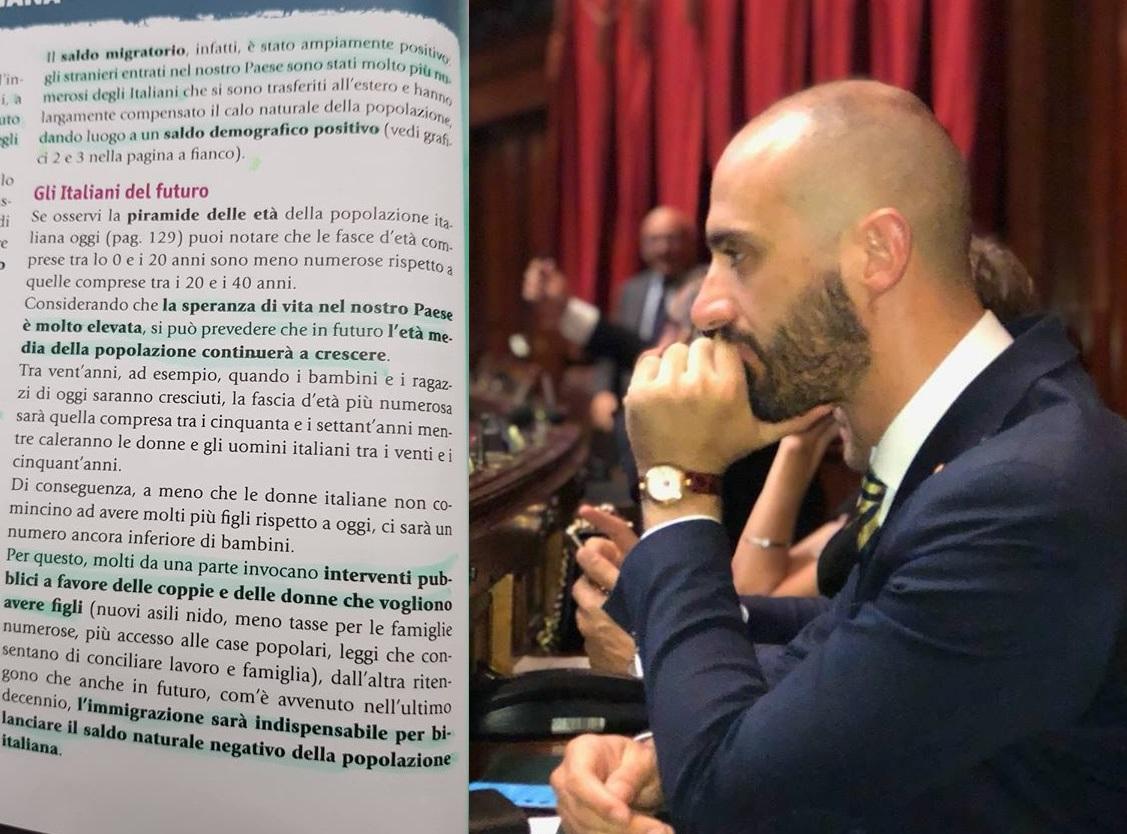 Immigrati gli italiani del futuro: il libro delle medie fa infuriare Marchetti (Lega)