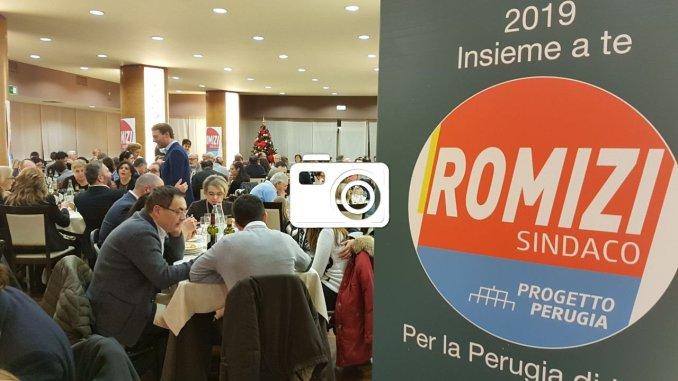 Andrea Romizi Sindaco le foto della cena elettorale con trecento persone