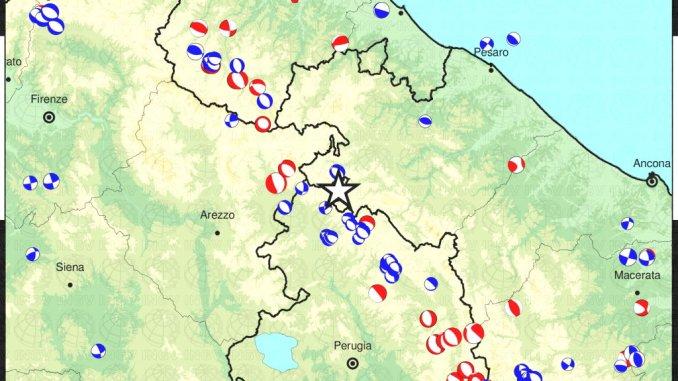 Terremoto di 3.6 ad Apecchio, avvertito anche in Umbria, in Altotevere
