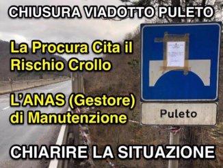 Viadotto Puleto E45 sequestrato, Ricci, Anas dice manutenzione, fare chiarezza