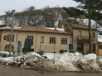 Maltempo in Umbria, nevica a Colfiorito e Valico della Somma