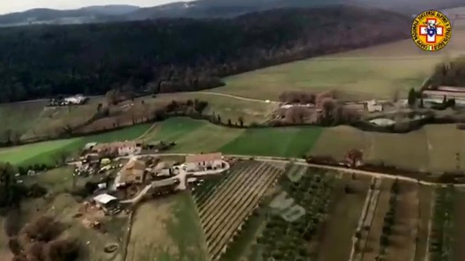 Proseguono le ricerche dell'83enne scomparso a Narni, anche elicottero
