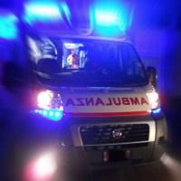 Incidente tra tra auto e moto, ferito una ragazzo di 16 anni