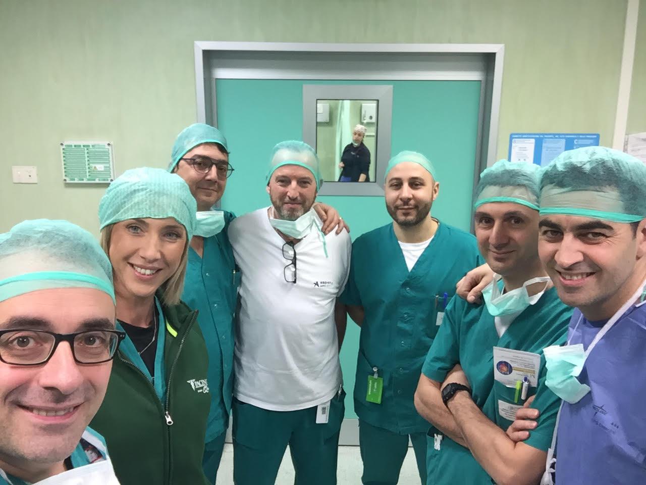 Chirurgia senza bisturi, l'ospedale di Perugia tra i primi centri Italiani d'eccellenza