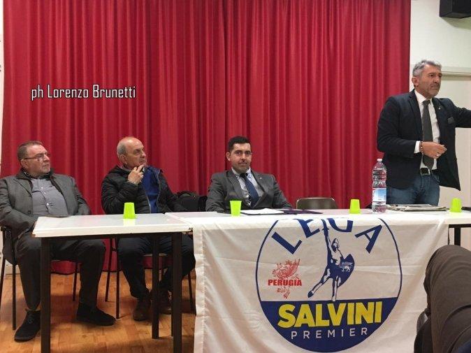 Giovanni Ferrara, Lega, impegno per il quartiere di Ponte d'Oddi a Perugia