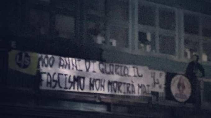 Forza Nuova Perugia, 100 anni di gloria, il fascismo non morirà mai
