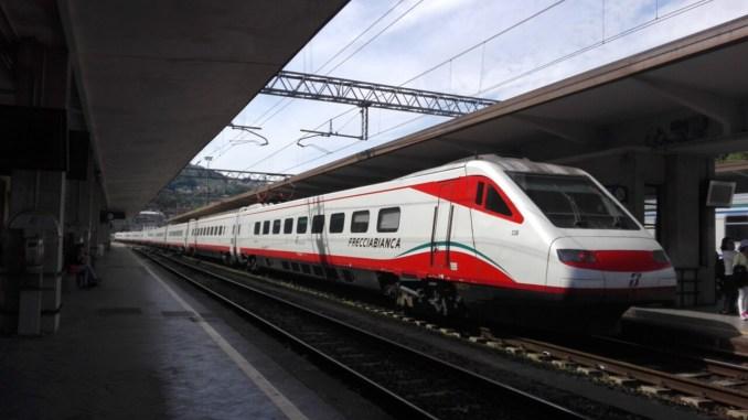 Treni Freccia verso Sud, alta velocità a Perugia fattibilità tecnico-economica 23 marzo 15,30
