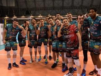 Volley, Sir Safety, Perugia espugna in tre set un'ottima Ravenna