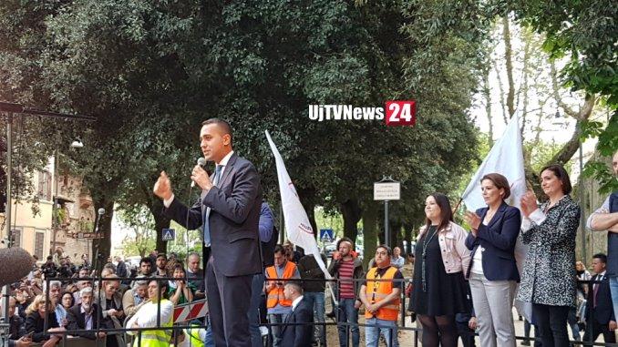 Di Maio a Perugia, a giorni ddl stop nomine politiche sanità