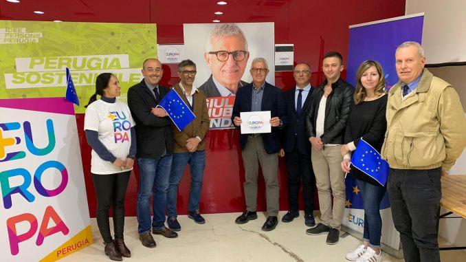 Più Europa Perugia sostiene candidato Giuliano Giubilei