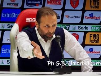 Massimiliano Santopadre, la A, per il Perugia, obiettivo difficile ma non impossibile |Foto