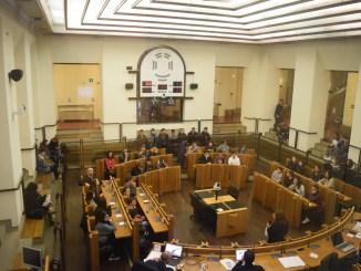 Calre la Giovane Europa, Umbria e il cambiamento, studenti a Palazzo