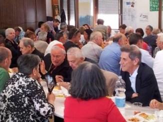 Il Pranzo della Misericordia offerto ad anziani, persone sole e famiglie in gravi difficoltà