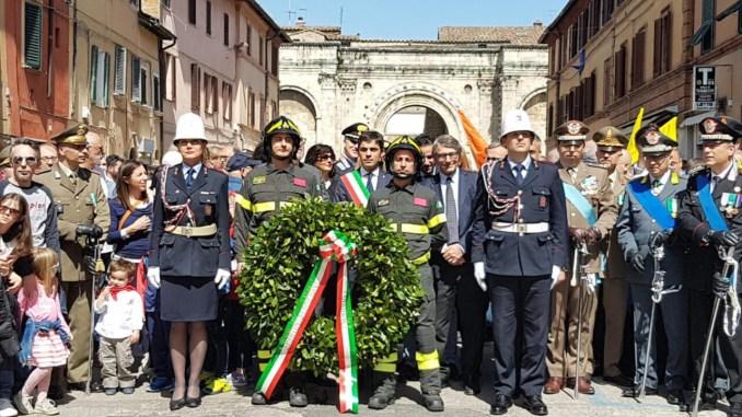 Festa della liberazione a Perugia nei tre luoghi storici