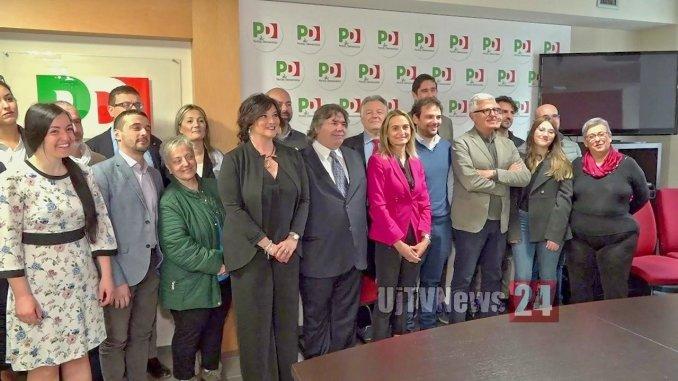 Presentata la lista del Pd di Perugia a sostegno di Giuliano Giubilei