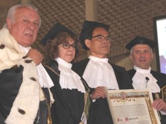 Il premio Nobel Shuji Nakamura celebrato a Perugia