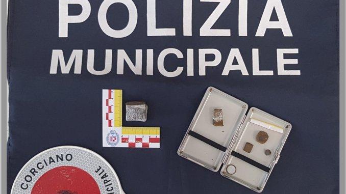 """Hashish, Polizia Locale di Corciano denuncia una """"vecchia conoscenza"""""""
