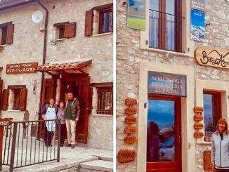 Castelluccio e ricostruzione, riaprono due attività centro storico