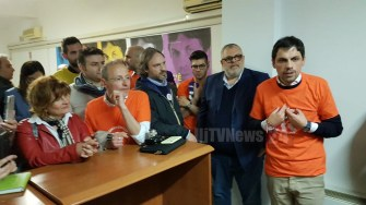 Andrea Romizi apre la su campagna elettorale da Ponte Felcino 28 aprile