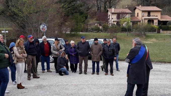 Ricostruzione post sisma inaugurata strada provinciale Saccovescio-Preci
