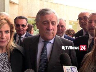 Presidente Tajani a congresso Perugia: «Basta chiacchiere e promesse»