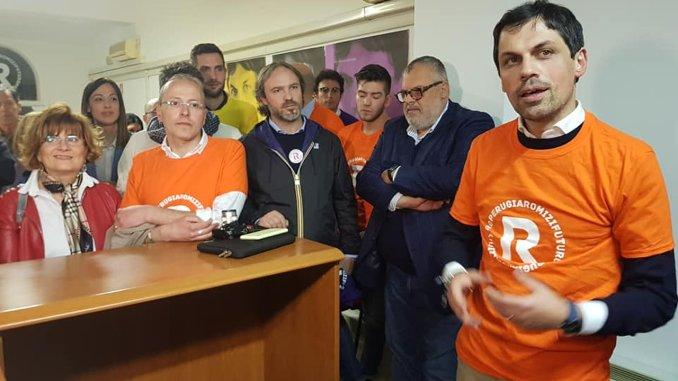 Andrea Romizi, 2 maggio, si riparte da Fontignano, sindaco incontra gente, è il GiRomizi