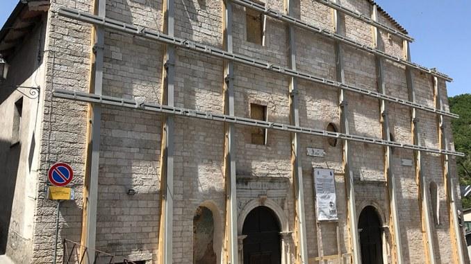 La Campana della rinascita da Brescia in dono a Cascia