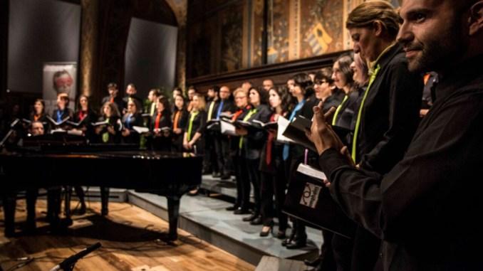 Omphalos Voices 17 maggio concerto LGBTI Voci per l'uguaglianza