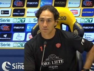 Perugia calcio fuori dai playoff a Verona, parla mister Alessandro Nesta