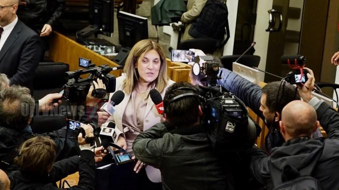 Resignation day, il lungo giorno di Catiuscia Marini finisce in ospedale