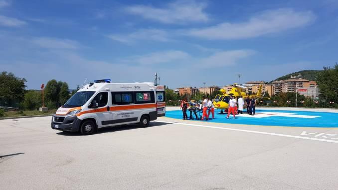 Anziano ustionato, è grave, è accaduto a Ponte Felcino di Perugia