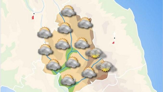 Previsioni del tempo piogge sparse al mattino acquazzoni nel pomeriggio