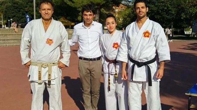 1 giugno giornata dello Sport School 4 al Parco Bellini a Ponte San Giovanni