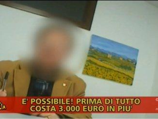Chiara Squaglia di Striscia la Notizia a Fontivegge, a fare cosa?