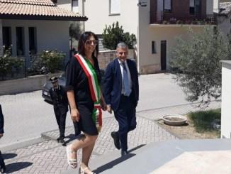 Claudio Sgaraglia, prefetto, visita Spoleto, Campello e Castel Ritaldi