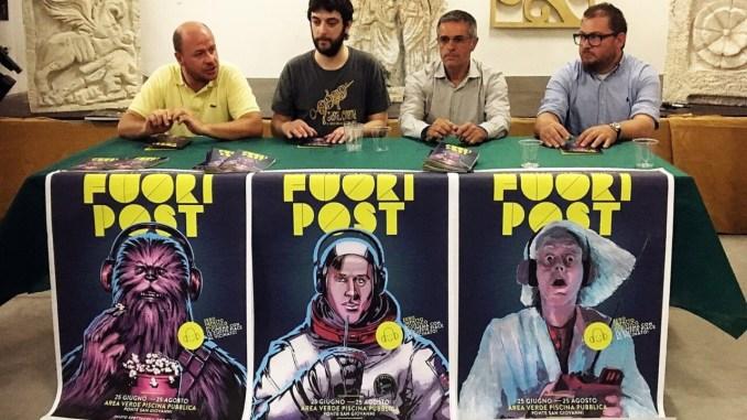 Quest'estate il cinema è a Ponte San Giovanni, c'è l'arena estiva FuoriPost
