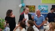 Da sinistra Alba Asfalti, Leonardo Varasano e Nazzareno Sepicacchi