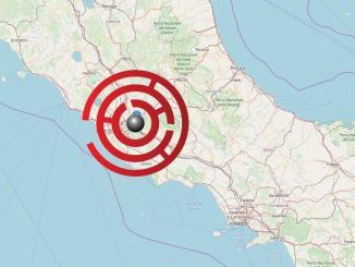 Scossa di terremoto di 3.7 a Roma, epicentro Colonna e Castelli Romani