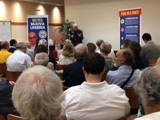 Claudio Ricci verso la presidenza Umbria, al via formazione per candidati