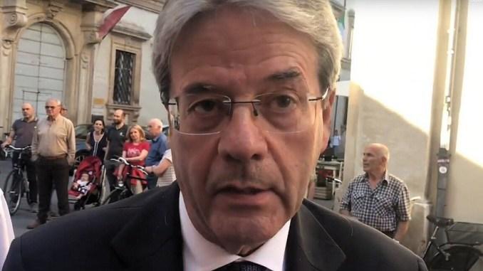 Paolo Gentiloni a Foligno, Umbria riparta da sue grandi qualità