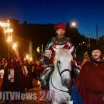 Perugia 1416 in notturna, entrata in città di Braccio al Cassero