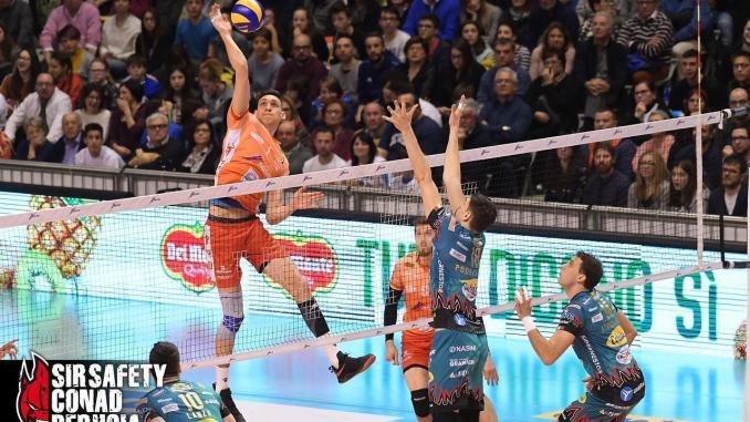 Volley, Sir Safety Conad Perugia, Roberto Russo veste bianconero
