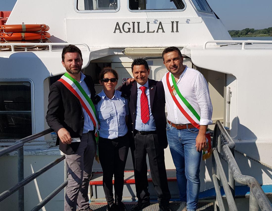 Castiglione Isola Polvese ora il collegamento sul Lago Trasimeno è realtà