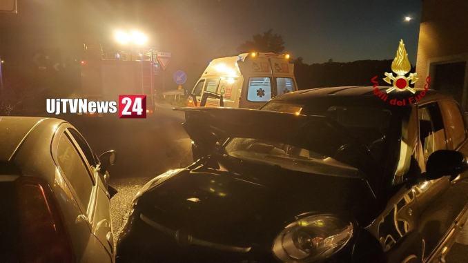 Incidente stradale a Ponte San Giovanni, tre persone ferite