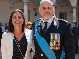 Marco Belladonna, ufficiale dei Carabinieri, scrive alla professoressa di Novara