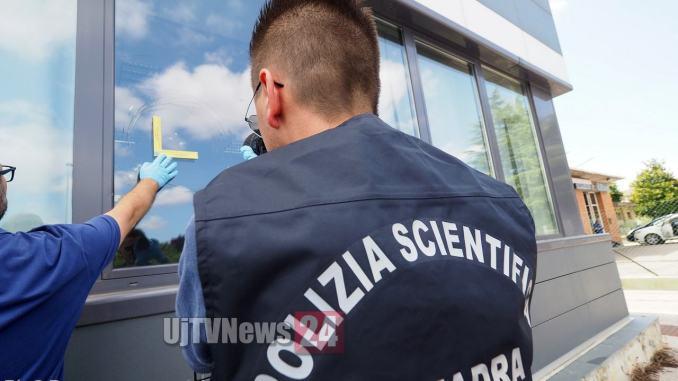 Pietre con la sede delCorriere dell'Umbria a Perugia